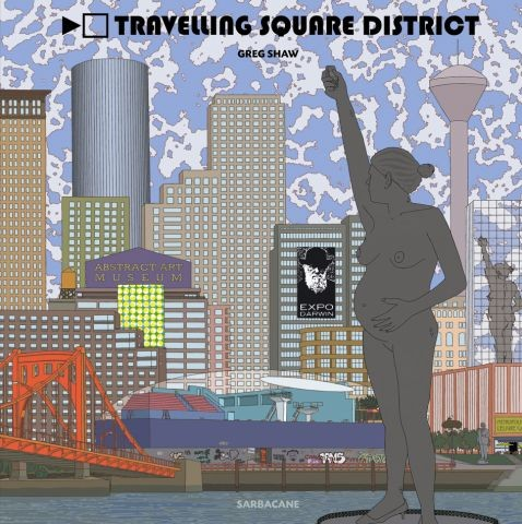 Travelling square district -  test