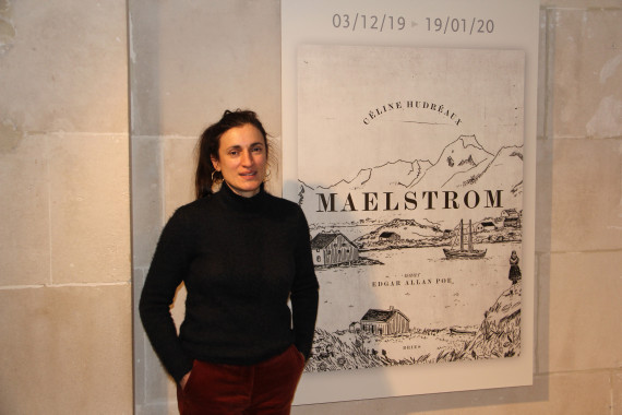 Maelstrom - Daniel Fouss Comics Art Museum test