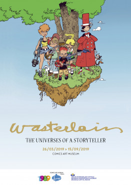 Wasterlain, The Universes of a Storyteller