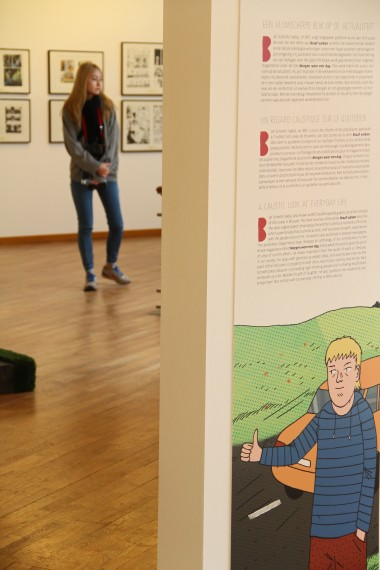 The New Wave of Flemish Comic Strip - © Daniel Fouss / Comics Art Museum test