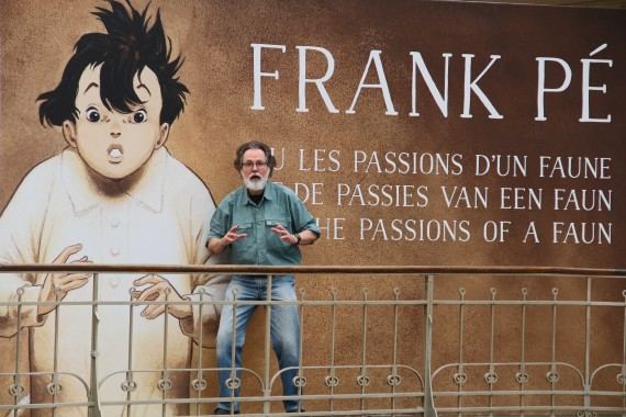 Frank Pé or the passions of a faun - © Daniel Fouss test