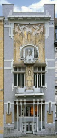 Un chef d uvre art nouveau centre belge de la bande dessin e mus e bruxelles - Deco huizen ...