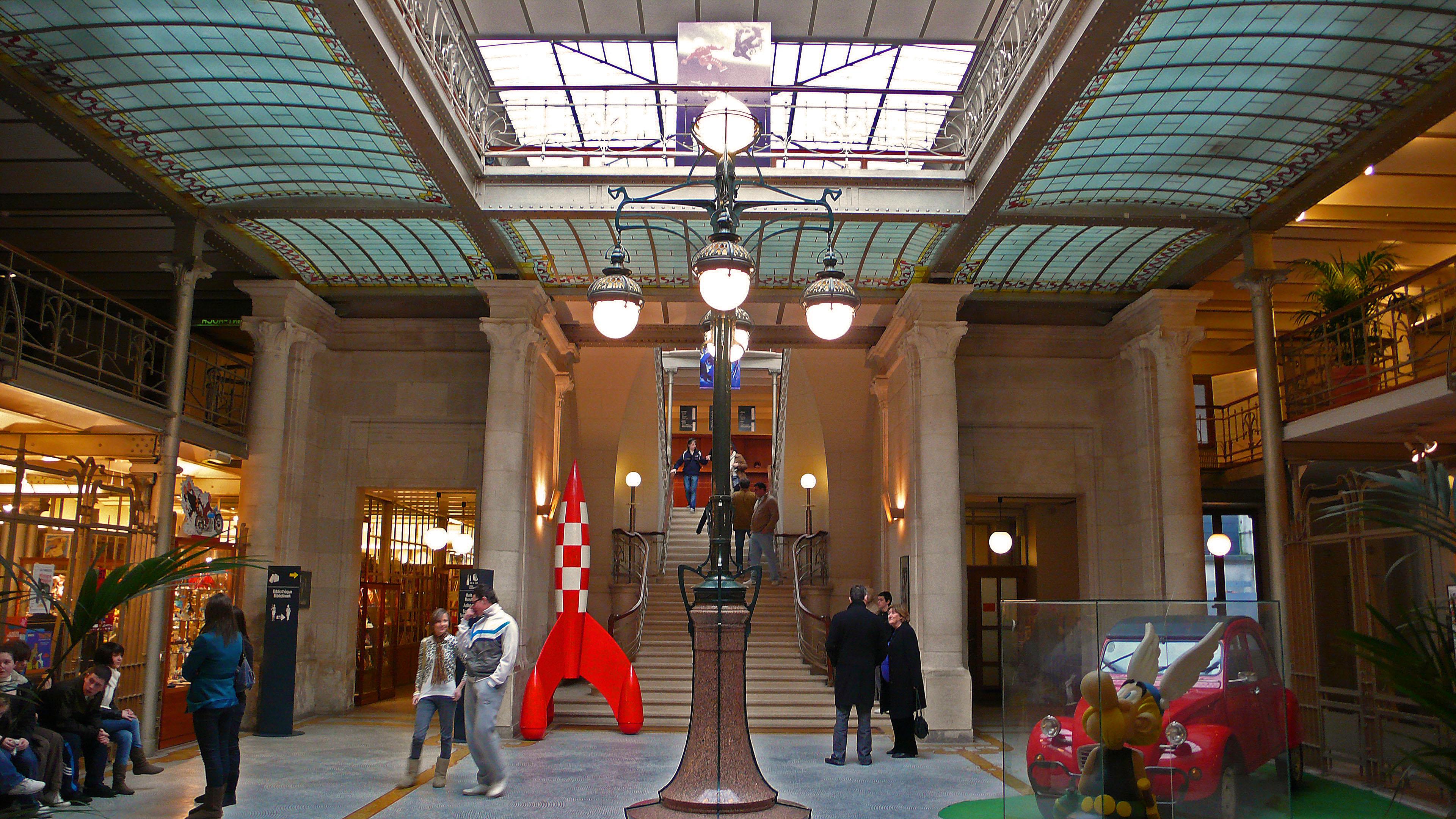 Centre Belge de la BD (accueil)